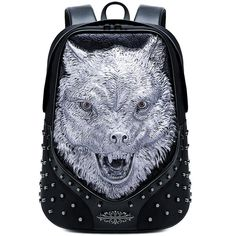 Travel Backpack, Fashion Backpack, Wolf Jewelry, Computer Bags, Backpacks, Style, Products, Swag, Backpacking