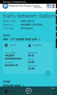 Indian Railways Launches The National Train Enquiry System (NTES) App screenshot 6