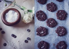 Double chocolate chip cookies with sea salt. Photo Emily Dahl.