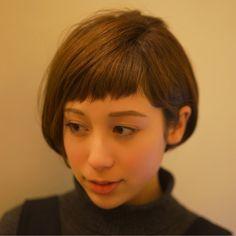 耳掛け&アシンメトリー前髪で可愛さ倍増♡ Tadao Shimodaira/FLOW