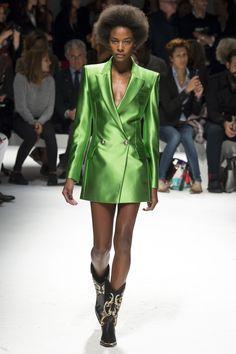 Fausto Puglisi Spring 2016 Ready-to-Wear Fashion Show - Leila Nda #Globalblackmodels #lofamagazine