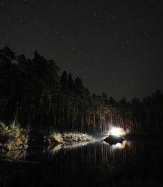 Photograph Near the lake under stars by Nikita Kharlanov on 500px