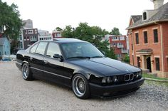 1995 BMW M5: The hand crafted M5 luxury sports sedan claims a 3.8L Engine producing 335HP and a 6-speed manual gearbox. King of the hill from the moment it was launched, rivals struggled to match the M5's intimacy, balance and pace. Alloy Rims w/ Perfomance Tires complete the Package.
