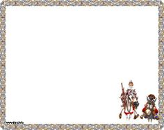 This is a PowerPoint template with Don Quixote and Sancho Panza images