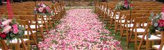 instead of the erm... blah red carpet, can i get a wedding aisle littered with petals?