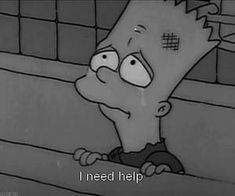 yo really check up on people plz😢 Simpsons Quotes, Cartoon Quotes, The Simpsons, Sad Quotes, Movie Quotes, Cartoon Art, Los Simsons, Depression Art, Sad Wallpaper