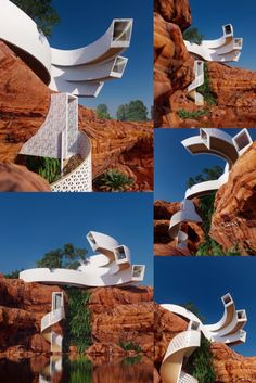 The Root house is mainly destined for places away from civilization and hostile environments, in order to adapt to these environments and promote the growth of vegetation through scientific techniques. #cuba #nature #cliffhouse #cliff #architecture #architect #amazingarchitecture #design #interiordesign #interiordesigner #decor #homedecor #home #house #luxury #diy #travel #amazing #photography #realestate #casa #arquitecto #arquitectura #decoration #sea #rock #lumion #sketchup #3d #render