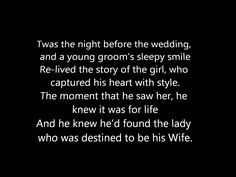 Twas The Night Before The Wedding - A Poem. An idea for your wedding readings for ceremonies in 2015 and Night Before Wedding, Wedding Night, Wedding Stuff, Wedding Poems, Wedding Readings, Vow Renewal Ceremony, Christmas Poems, Twas The Night, Night Quotes