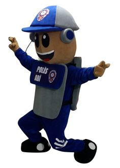 Burdur polis Mascot Costumes, Luigi, Fictional Characters, Art, Art Background, Kunst, Performing Arts, Fantasy Characters, Art Education Resources
