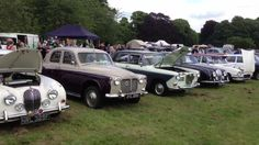 Thoresby Classic Car Show 30th June 2013 East Midlands Festival of Transport