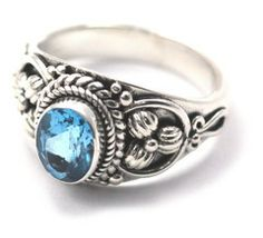 Blue Topaz & Sterling Silver Ring ~ Fine Jewelry & Engagement Rings   Salisbury, MD   Kuhn's Jewelers