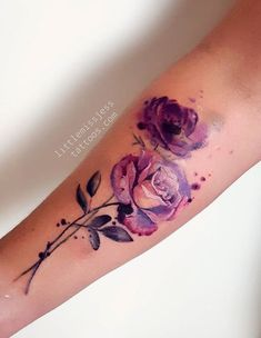 Jess Hannigan flower tattoo