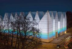 Iluminação LED para a Szczecin Philharmonic