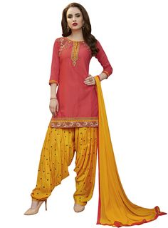Check out the online collection of Salwar Kameez in the Catalog 4428 at Indian Cloth Store. Get Catalog 4428 of Salwar Kameez in various designs, colors & sizes. Patiala Salwar Suits, Punjabi Suits, Indian Suits, Indian Dresses, Patiyala Suit, Punjabi Girls, Blouse Neck Designs, Types Of Dresses, Casual Wear