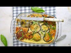 6 recetas con berenjenas ¡Riquísimas!   Cuuking! Recetas de cocina Protein Pancakes, Zucchini, Vegetables, Cooking, Recipes, Queso, Food, Youtube, Salads