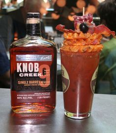 This Bloody Mary is a 'meat and potatoes' kind of girl. | 21 Bloody Marys That Blurred The Line @Garrett Herbert