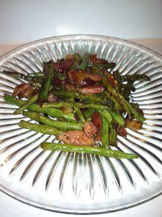 Butter Bacon Green Beans