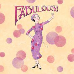 Fabulous by Mary Engelbreit | DecalGirl