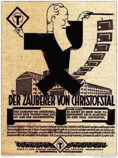 Original-Werbung/ Anzeige 1928 - TUCHFABRIK CHRISTOFSTAL / WÜRTTEMBERG / SCHWARZWALD - ca. 90 x 120 mm