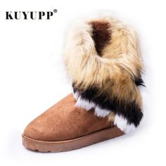 9fb84d7235856 women's ankle boots on flat soles winter boots on fur warm winter shoes  round toe women's