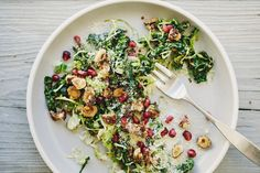 KALE AND BRUSSELS SLAW WITH QUINOA — Sprouted Kitchen