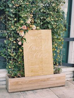Denver Rehearsal Dinner - Emma Lea Floral- Rocky Mountain Bride- Decorus Fine Art Photography - Denver Colorado Fine Art Floral Design - Luxury Wedding and Event Florist - Slow Flowers Event Signage, Wedding Signage, Reception Signs, Blush And Gold, Cream Blush, Blush Pink, Wedding Ceremony Backdrop, Wedding Decor, Floral Design