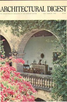 Architectural Digest - July 1972