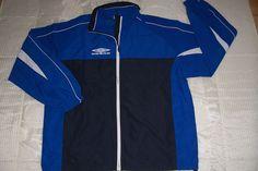 UMBRO Herren Sport Jacke in blau , 3 XL 64/66    NEU!!!