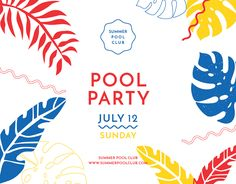 "Check out this @Behance project: ""Pool Party 