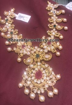 60 to 70 Grams Pachi Necklaces - Jewellery Designs