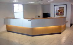 Solid Surface Reception Desk TW-MART-130