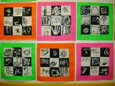 A la manière de Kandinsky: Trente