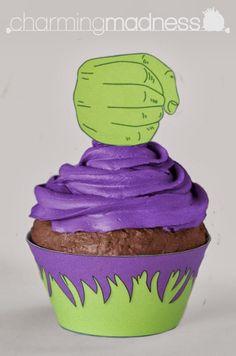 Mini Kit de Hulk para Imprimir Gratis e Imágines.