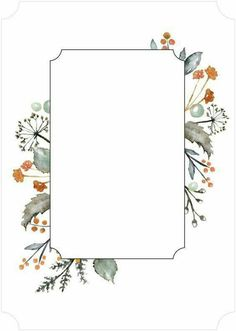 Ideas for wall paper floral printable Wallpaper Backgrounds, Iphone Wallpaper, Wallpapers, Floral Border, Border Design, Flower Frame, Botanical Illustration, Backdrops, Wedding Invitations