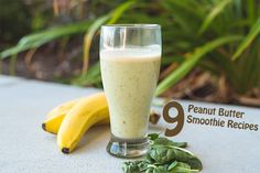 9 Peanut Butter Smoothies