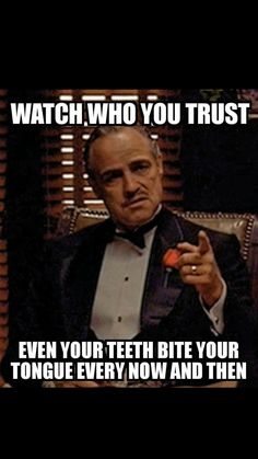 The Godfather is one of the best movies of all time. Celebrate its success and relive how good it is with this Godfather meme collection. Life Quotes Love, Badass Quotes, Funny Quotes About Life, Wise Quotes, Movie Quotes, Great Quotes, Motivational Quotes, Inspirational Quotes, Remember Quotes