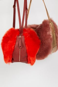 Faux Fur Short Bag Strap   Add fun flair to any bag with this plush faux fur strap in a short design. * Easy circle clips Warning: This product contains a chemical known to the State of California to cause cancer and birth defects or other reproductive harm.