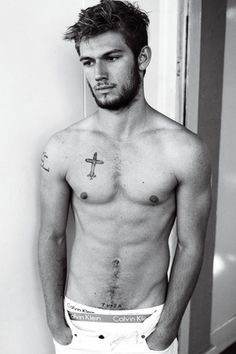 Alex Pettyfer Holy hell.