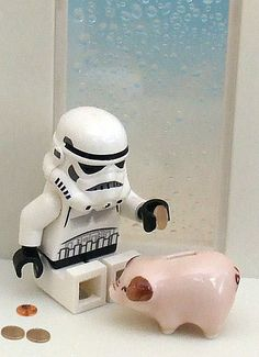 Saving up for our next #WDW trip. #Lego #Stormtrooper #Starwars