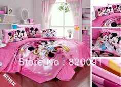 sheet pillowcase king queen full twin size bedclothes see more for girls happy mickey u0026 minnie mouse bedding bed set duvet cover set 3