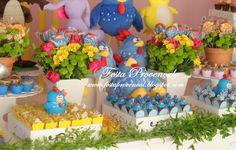 Festa Provençal: A galinha Pintadinha da Júlia!