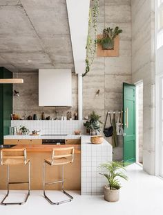 A bright contemporary home in Perth designed with sustainability in mind and a considered array of intriguing materials.