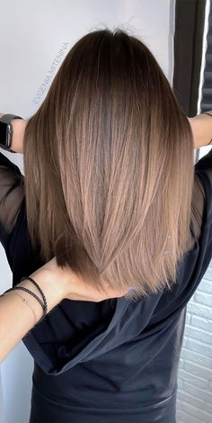 Sombre Hair Brunette, Ombre Hair Color For Brunettes, Brown Hair With Blonde Highlights, Blonde Hair Looks, Ombre Hair Colour, Hair Colours, Natural Ombre Hair, Brown Ombre Hair, Brown Hair Balayage