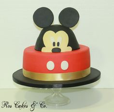 Mickey Cake by Ros Cakes & Co.