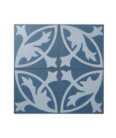 Camden Blue Floral Lys