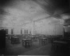 Selfridges Ltd, London, cafe, March 1912. IET Archives NAEST 074/04/0090.