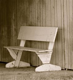 I could so make this bench for like $20 a pop. . . .