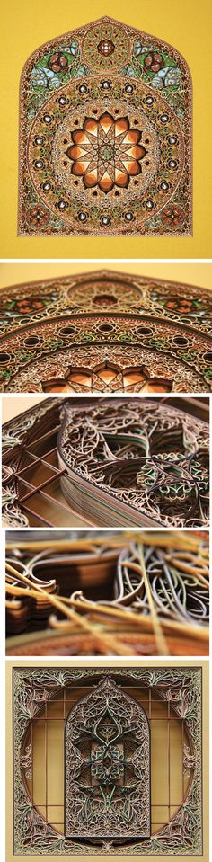 Paper Art by artist Eric Standley