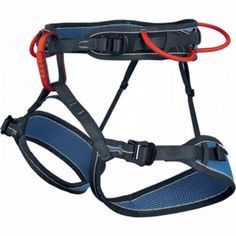 Singing Rock MIDI Harness.  Multi-purpose fully adjustable sit harness. Four buckle design means easy centering of gear loops for winter climbing or trad climbing. Adjustable leg loops. MSRP: $69.95