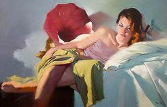 Kai Fine Art is an art website, shows painting and illustration works all over the world. Painting Collage, Woman Painting, Figure Painting, Painting & Drawing, Portraits, Portrait Art, Modern Art, Contemporary Art, Jean Gabin